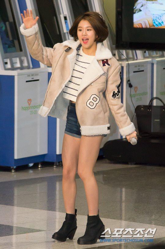 「JYP所属歌手と共に」に出演したTWICEチェヨン